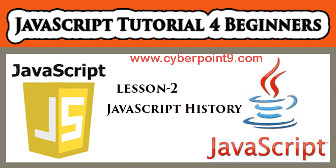 History of JavaScript Tutorial for Beginners Study Material Notes in Hindi